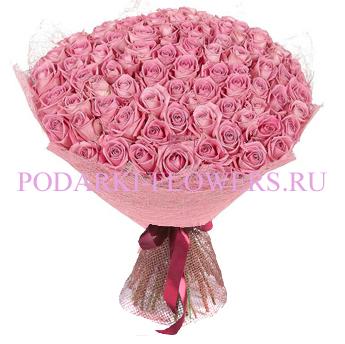 Букет роз «Романтика» 51 шт./ 101 шт.