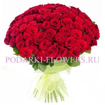 Букет роз «Каприз» 51 шт./ 101 шт.