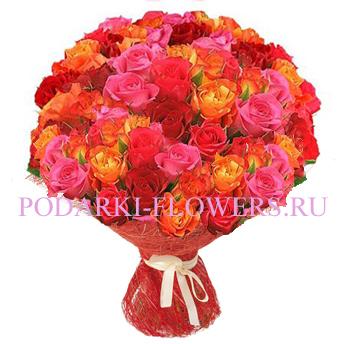 Букет роз «Хороший вкус» 51 шт./ 101 шт.