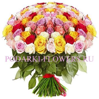 Букет роз «Красотка» 101 шт./151 шт./201 шт.