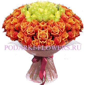 Букет роз «Волшебство» 101 шт./151 шт./201 шт.