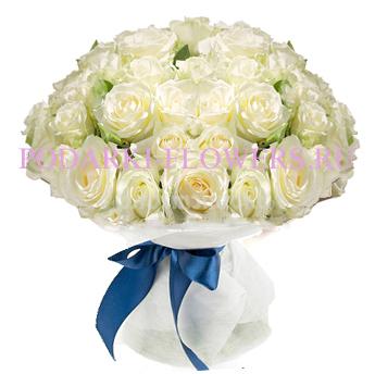Букет роз «Фонтан желаний» 51 шт./ 101 шт.
