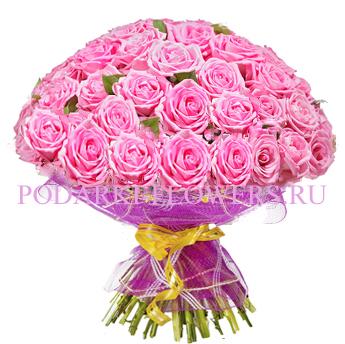 Букет роз «Осенний вальс» 51 шт./ 101 шт.