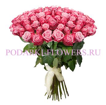 Букет роз «Незабываемый вечер» 51 шт./ 101 шт.