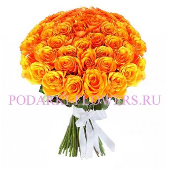 Букет роз «Танго» 51 шт./ 101 шт.