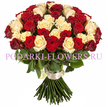 Букет роз «Нежные чувства» 101 шт./151 шт./201 шт.